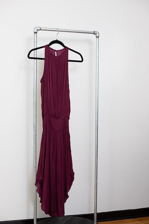 Smocked Waist Classic Midi Dress