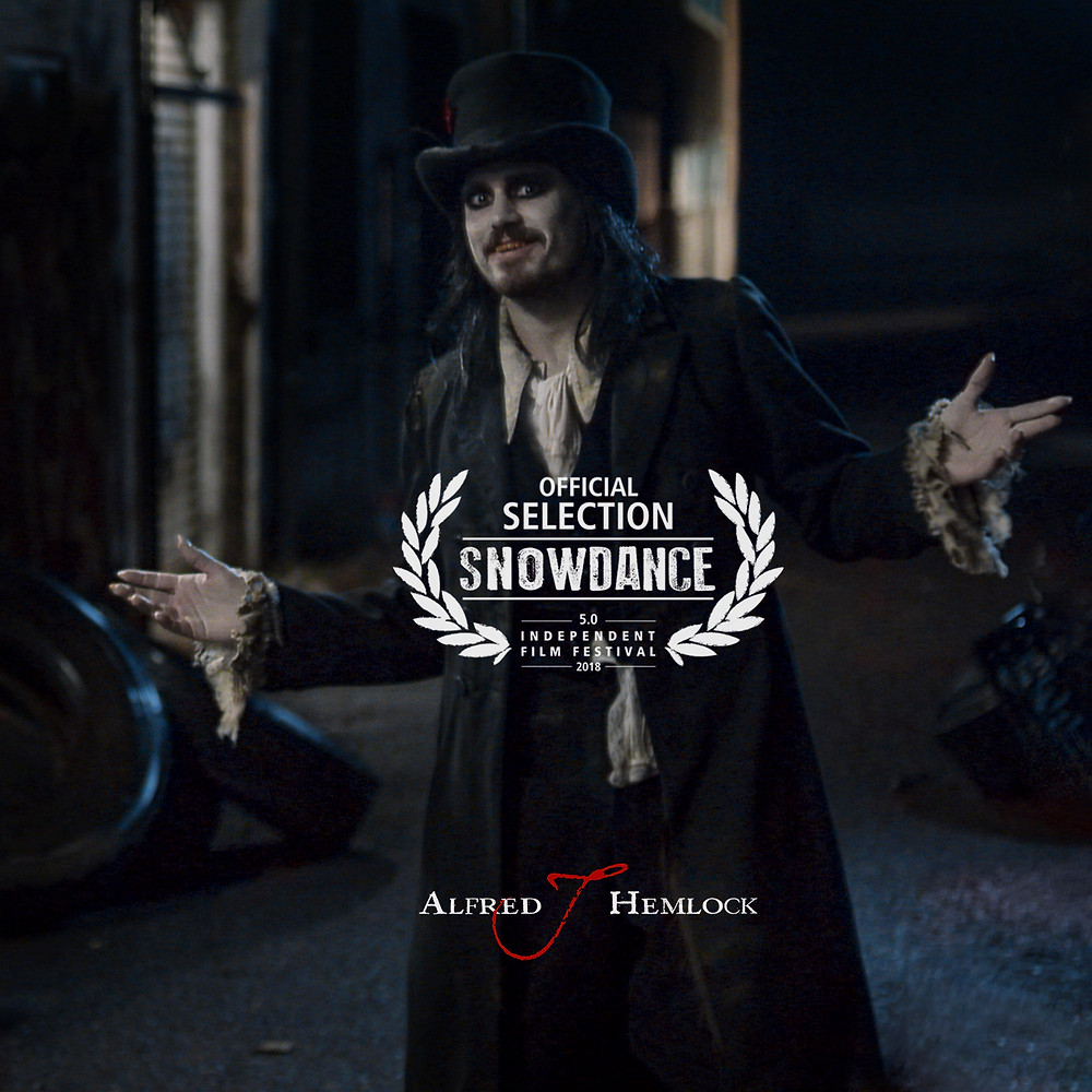 Alfred J Hemlock with Snowdance Official Selection Laurel