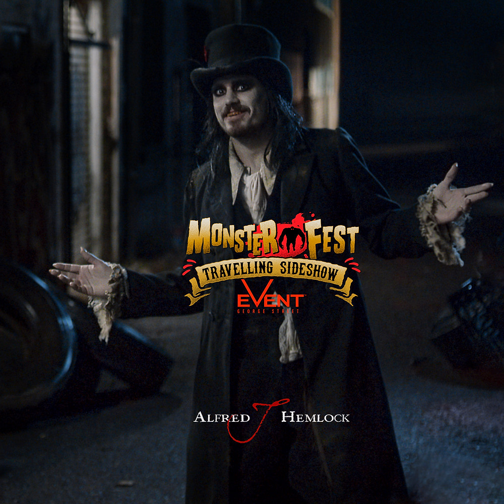 Alfred J Hemlock will screen at the Monster Fest Travelling Sideshow in Sydney