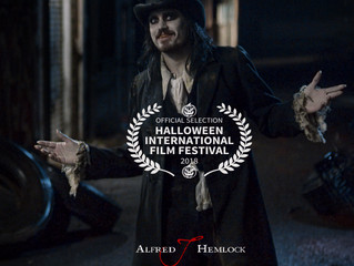 Alfred J Hemlock an Official Selection at the Halloween Film Festival