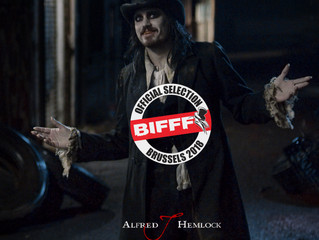 Alfred J Hemlock an Official Selection at the  BIFFF - Brussels International Fantastic Film Festiva