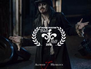 Alfred J Hemlock an Official Selection at NOLA Horror Film Fest