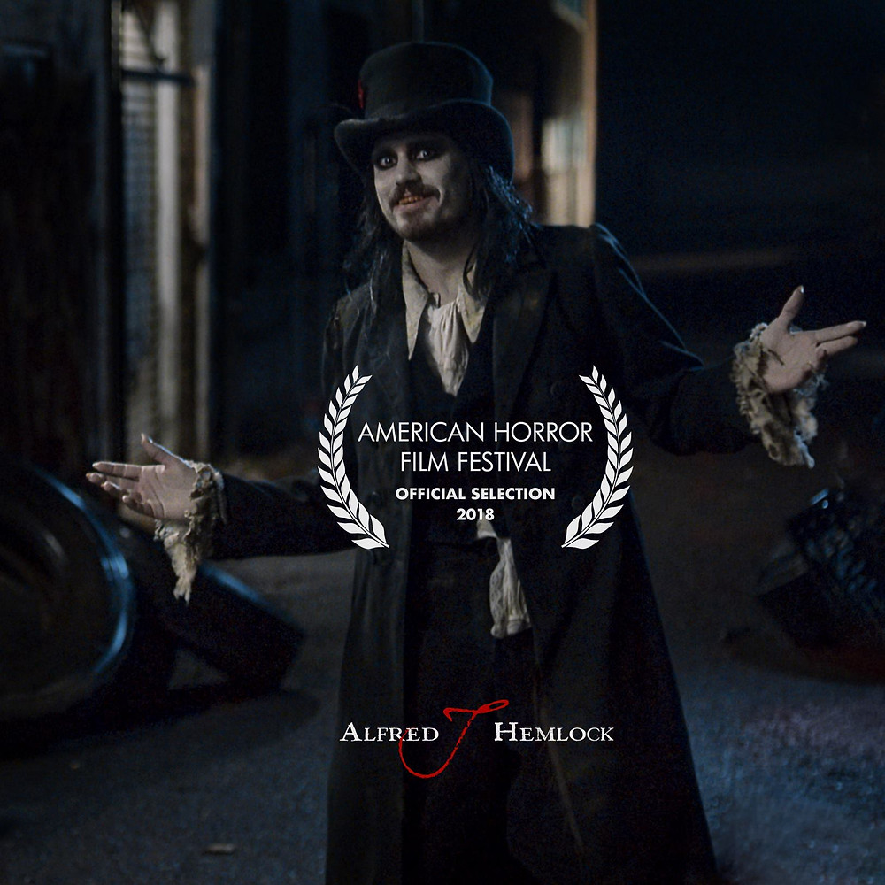 Alfred J Hemlock an Official Selection of The American Horror Film Festival 2018
