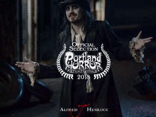 Alfred J Hemlock an Official Selection at the Portland Horror Film Festival