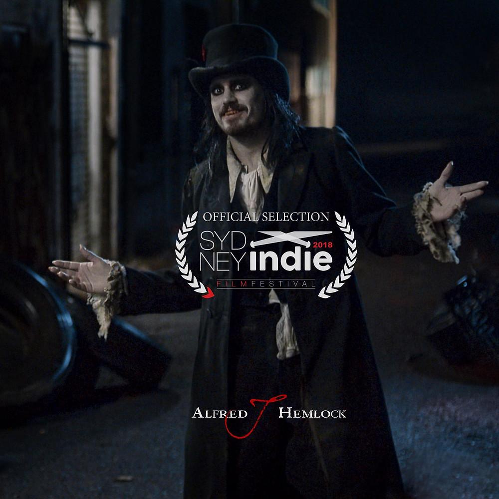 Alfred J Hemlock Official Selection Sydney Indie Fest 2018