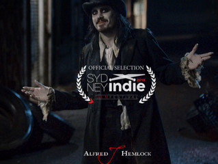 Alfred J Hemlock an Official Selection of Sydney Indie Fest