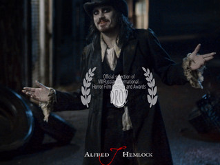 Russian Premiere! Alfred J Hemlock an Official Selection at the Russian International Horror Film Aw
