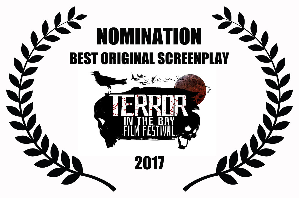 Edward Lyons and Melissa Lyons Nominated for Best Original Screenplay for Alfred J Hemlock at Terror in the Bay Film Festival 2017