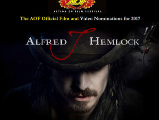 Alfred J Hemlock Nominated for Three Awards at Action on Film International Festival