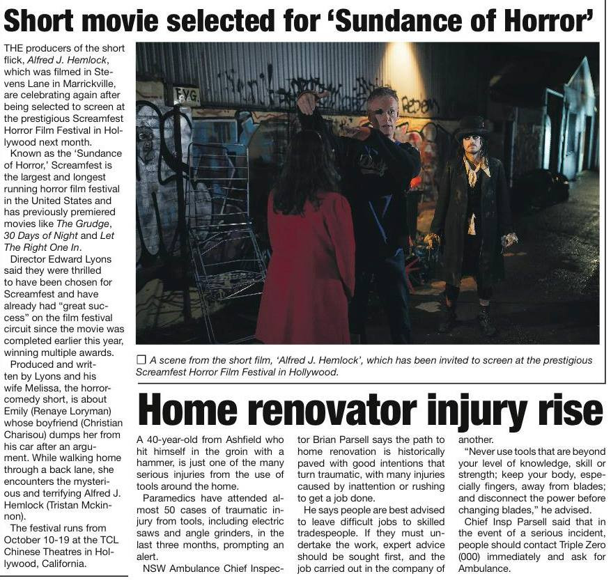 Picture of the article from the Inner West Times