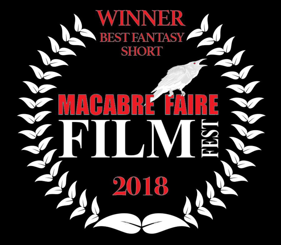 Alfred J Hemlock Winner Best Fantasy Short Macabre Faire Film Festival