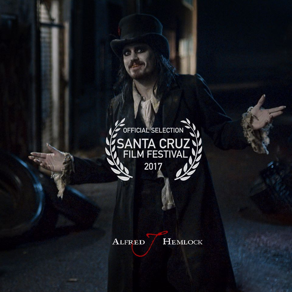Alfred J Hemlock is an Official Selection at the 2017 Santa Cruz Film Festival