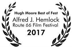 Alfred J Hemlock Wins Hugh Moore Best of Fest at Route 66 Film Festival 2017
