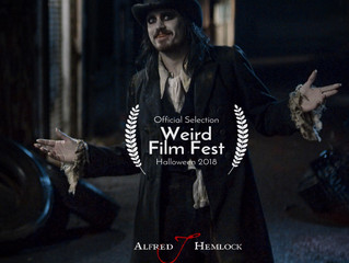 Alfred J Hemlock an Official Selection at Weird Film Fest