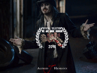 Alfred J Hemlock an Official Selection at the We Are Indie Horror Fest