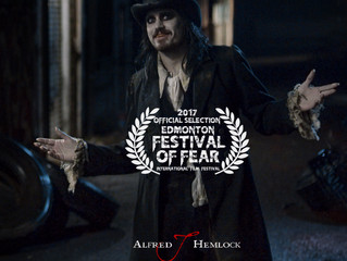 Alfred J Hemlock an Official Selection at the Edmonton Festival of Fear