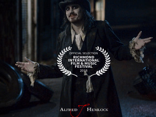 Alfred J Hemlock an Official Selection at the Richmond International Film & Music Festival