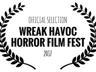 Alfred J Hemlock Nominated for Six Awards at Wreak Havoc Horror Film Festival