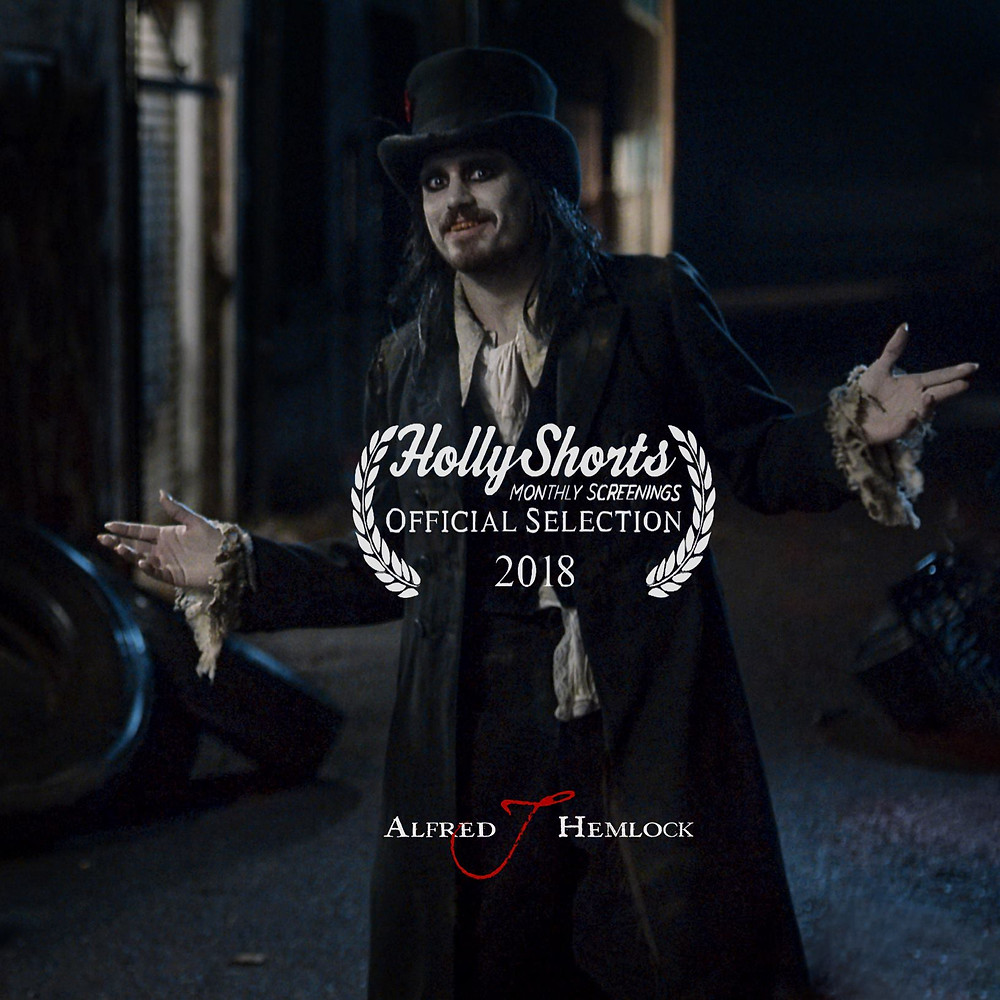 Alfred J Hemlock an Official Selection of HollyShorts Monthly Screenings 2018