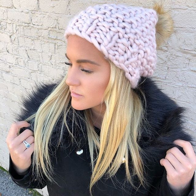 Bundle up in our cute beanies and black