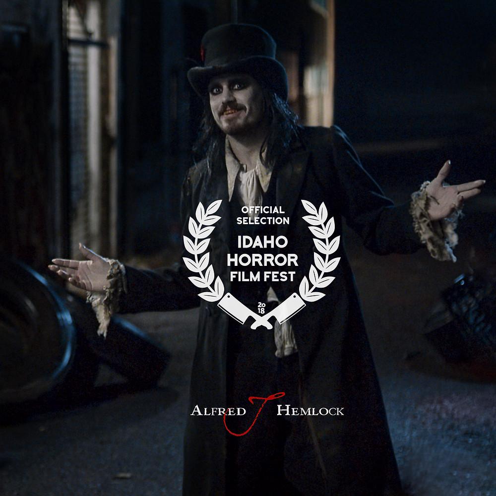 Alfred J Hemlock Official Selection at Idaho Horror Film Festival 2018
