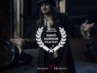 Alfred J Hemlock an Official Selection at Idaho Horror Film Festival
