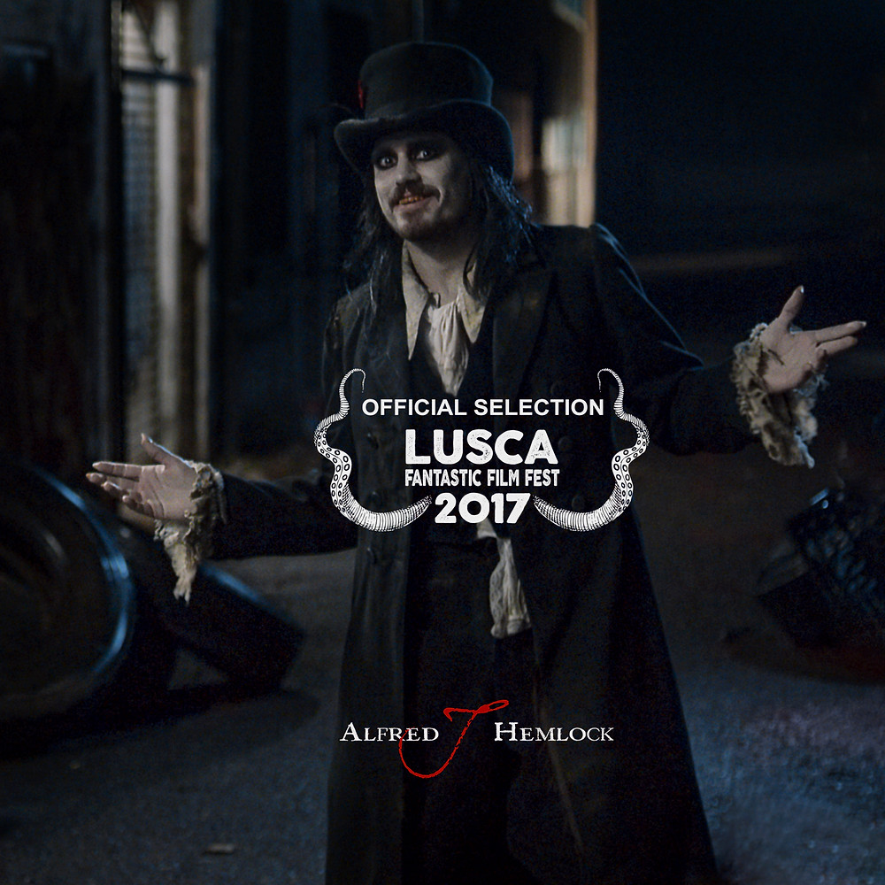 Alfred J Hemlock is an Official Selection at Lusca Fantastic Film Fest 2017