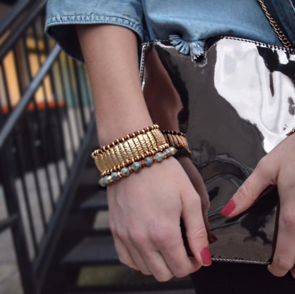 On Trend with Stacked Bracelets