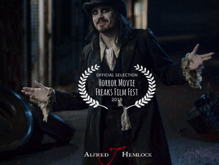 Alfred J Hemlock an Official Selection at Horror Movie Freaks Film Fest