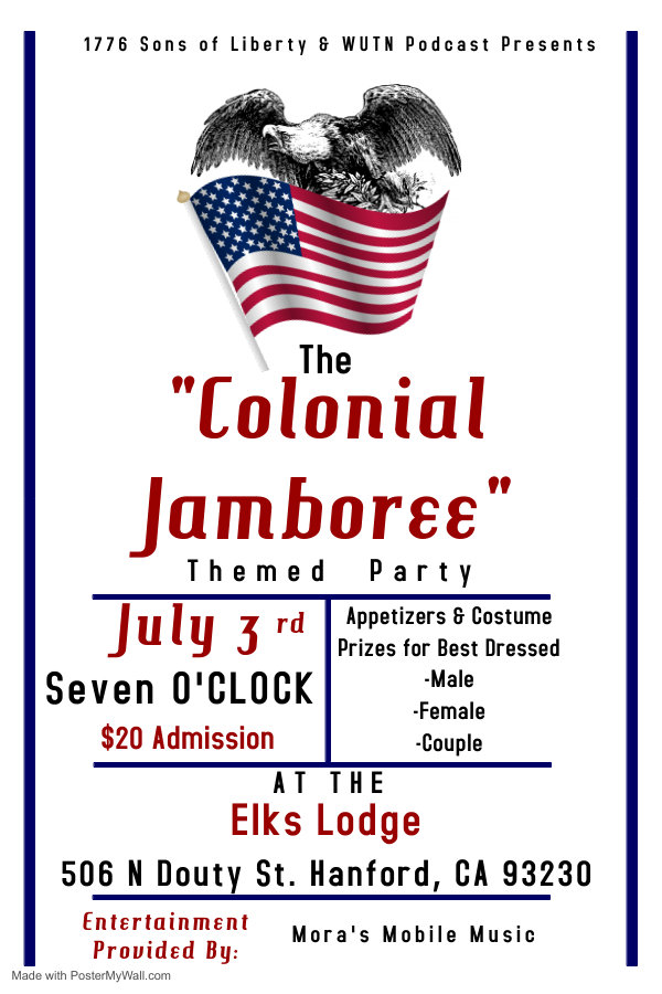 Colonial Jamboree - Made with PosterMyWa