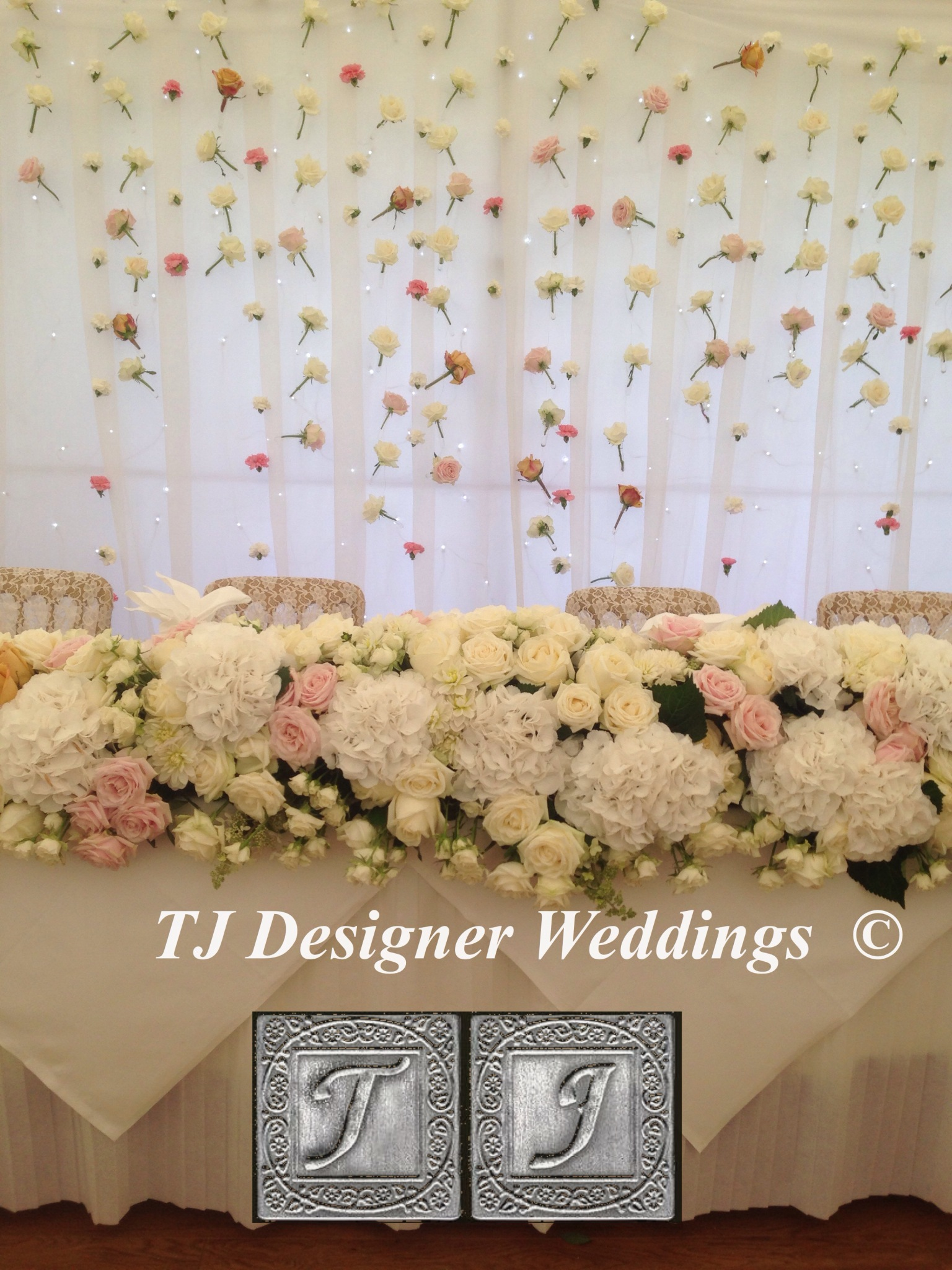 Floral Drapes by T.J.