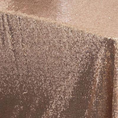 Blush Sequin Table Cloth