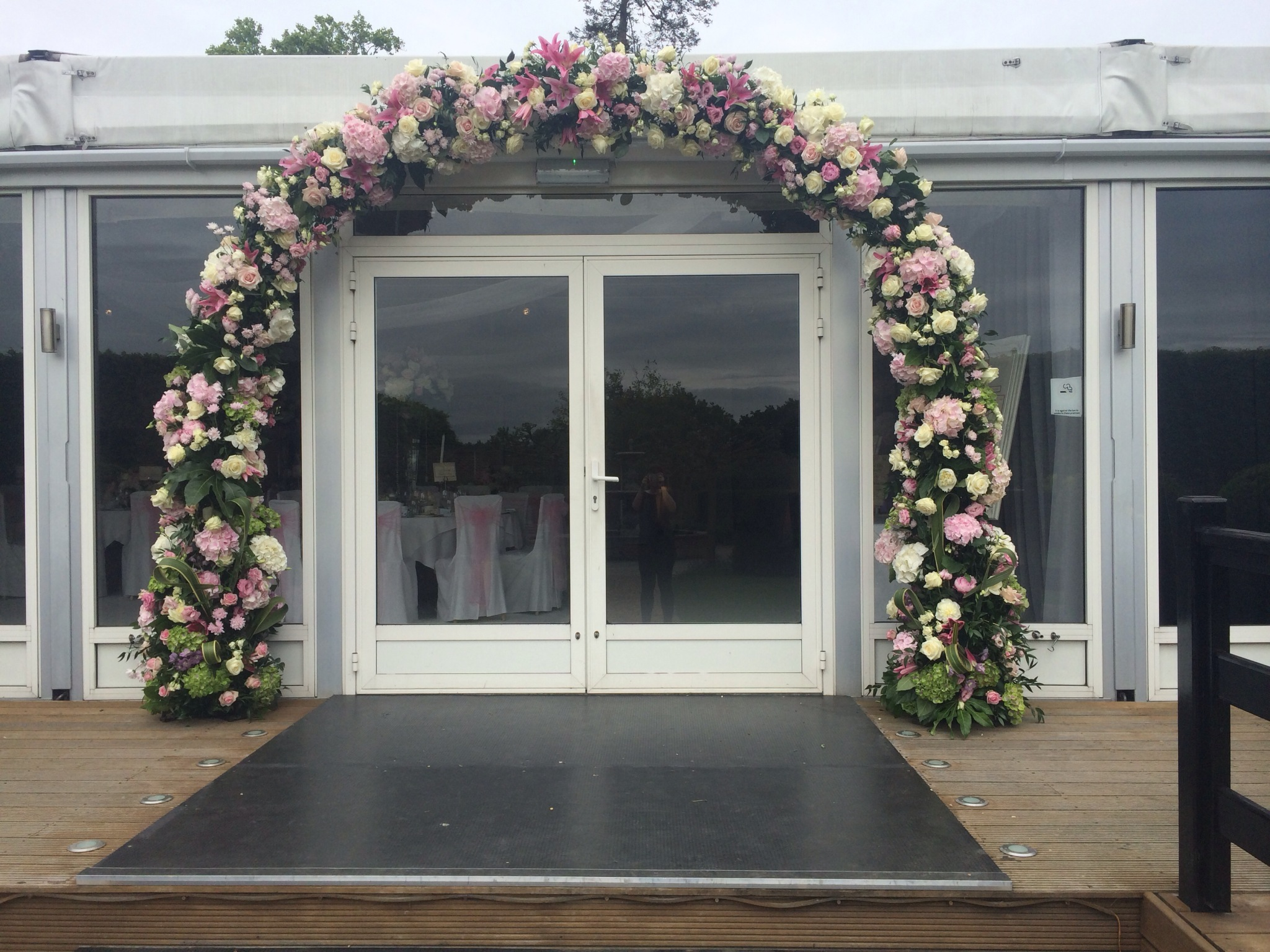 Summer Wedding Arches TJ Designer
