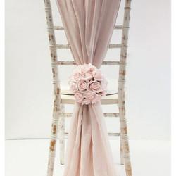 Pink Vertical Chiffon
