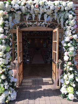 Mulberry House entrance arches