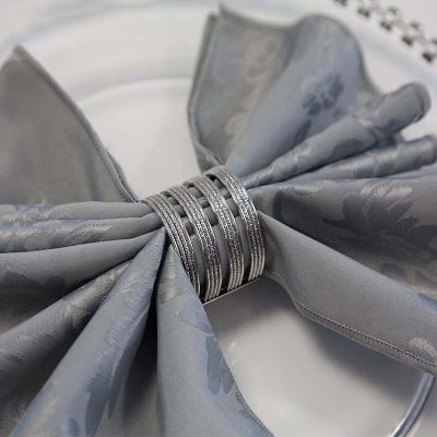 Diamante Boutique Silver Napkin Ring