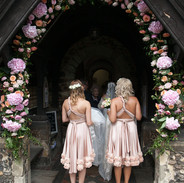 Fryerning Church Wedding  - Here comes the bride