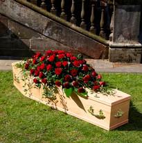 Large Casket Tributes
