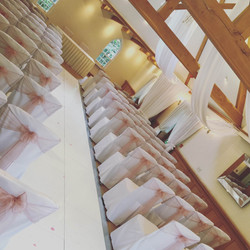 Luxury Satin And Lace Chair Sashes