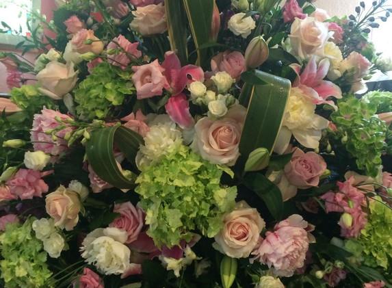 Church Flowers RIP Team TJ
