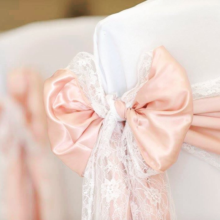 Satin And Lace Sashes