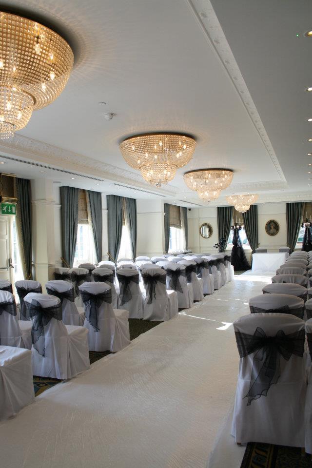 White Aisle Carpets