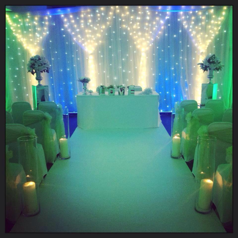 Tiffany Blue & Greens Aisle Carpets