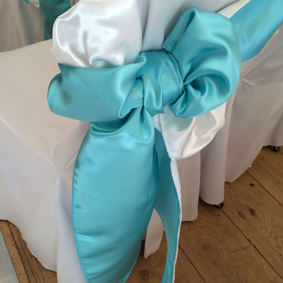 Luxury Satin Chair Sashes