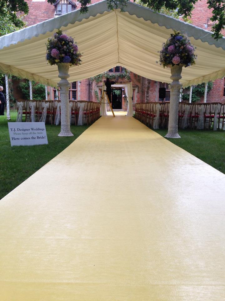 Yellow Outdoor Isle Carpet