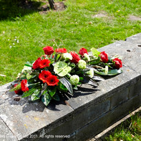 Red Funeral Tributes  (