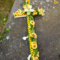 Large Coffin Cross Tributes