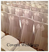 Chair covers Essex coverit! White Organza Sash
