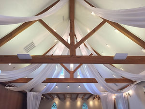 Luxury Ceiling Swags And Panels At Mulberry House