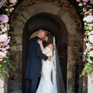 Fryerning Church Wedding - The Bride and Groom